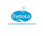 Badkamer met blauwe tegels - Thebalux
