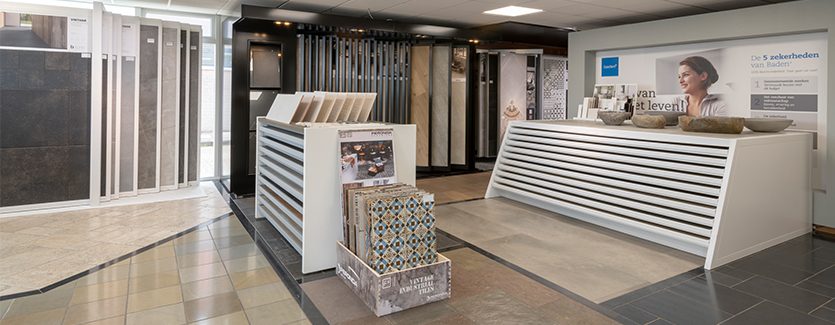 TC Couwenberg showroom tegelafdeling