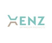 Badkamer met blauwe tegels - Xenz