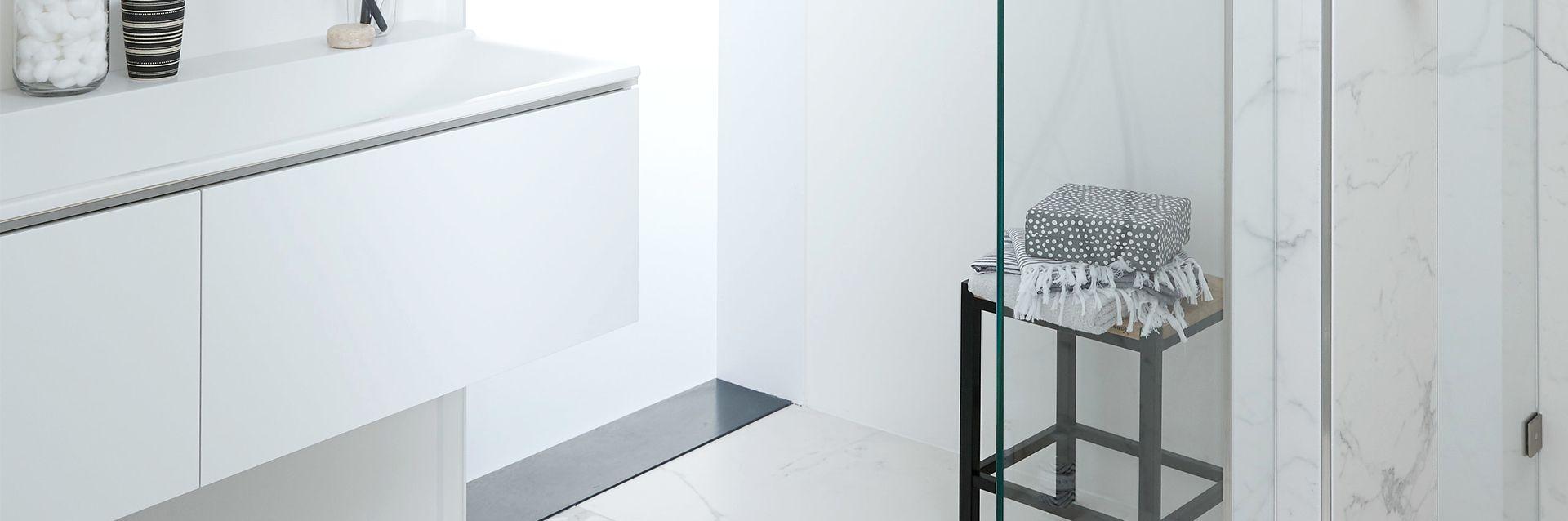 Marmeren badkamer - Marmeren badkamer