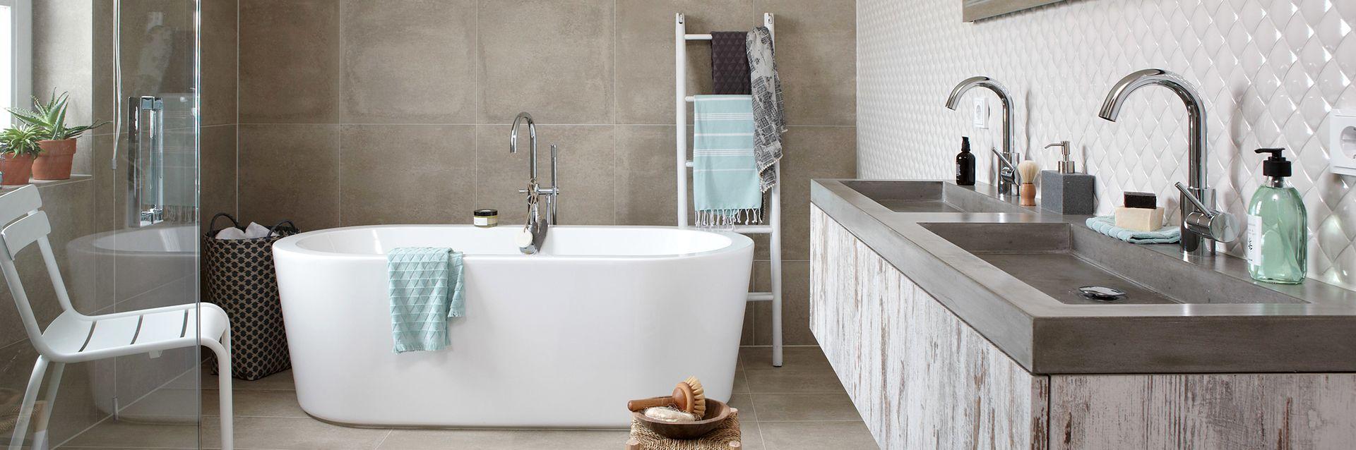 Landelijke badkamer - Landelijke badkamer