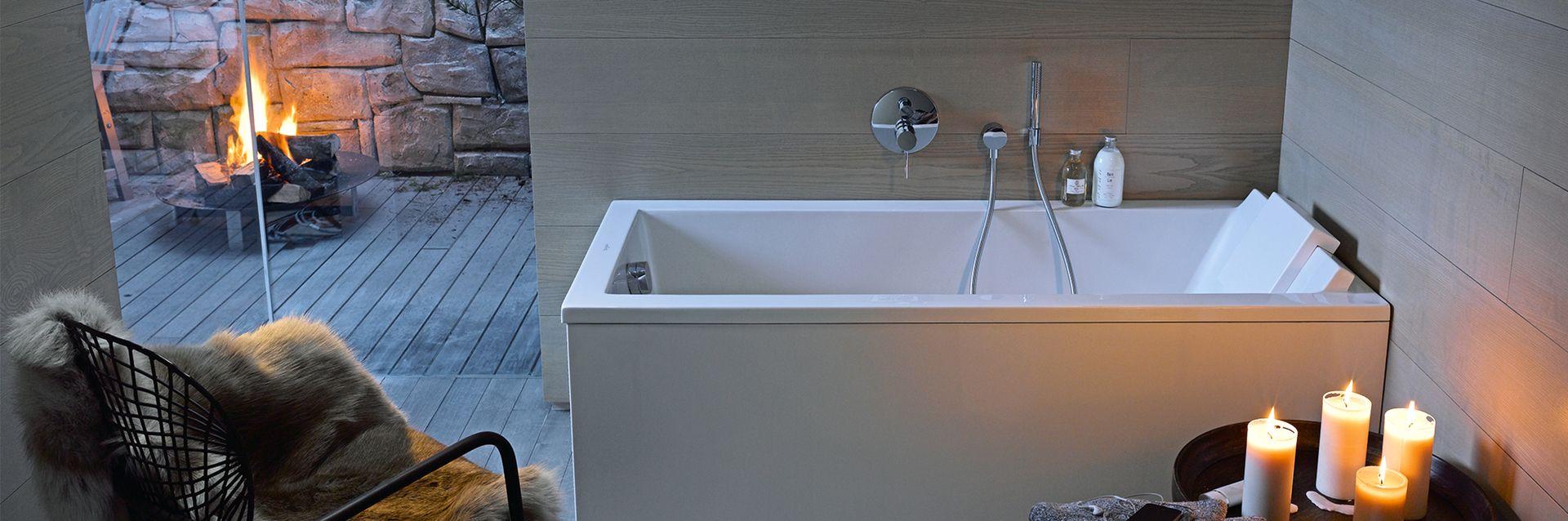 Zo maakt u van uw badkamer een thuisspa - Zo maakt u van uw badkamer een thuisspa