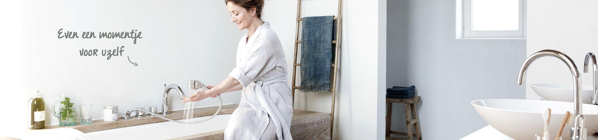 Spa-ritueel in de badkamer - Spa-ritueel in de badkamer