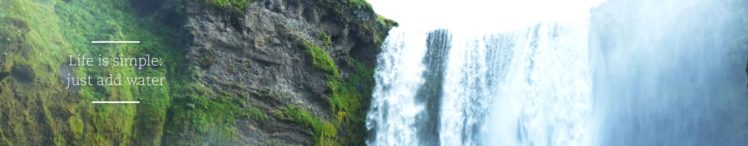 Waterverbruik verminderen - Sfeerbanner-water