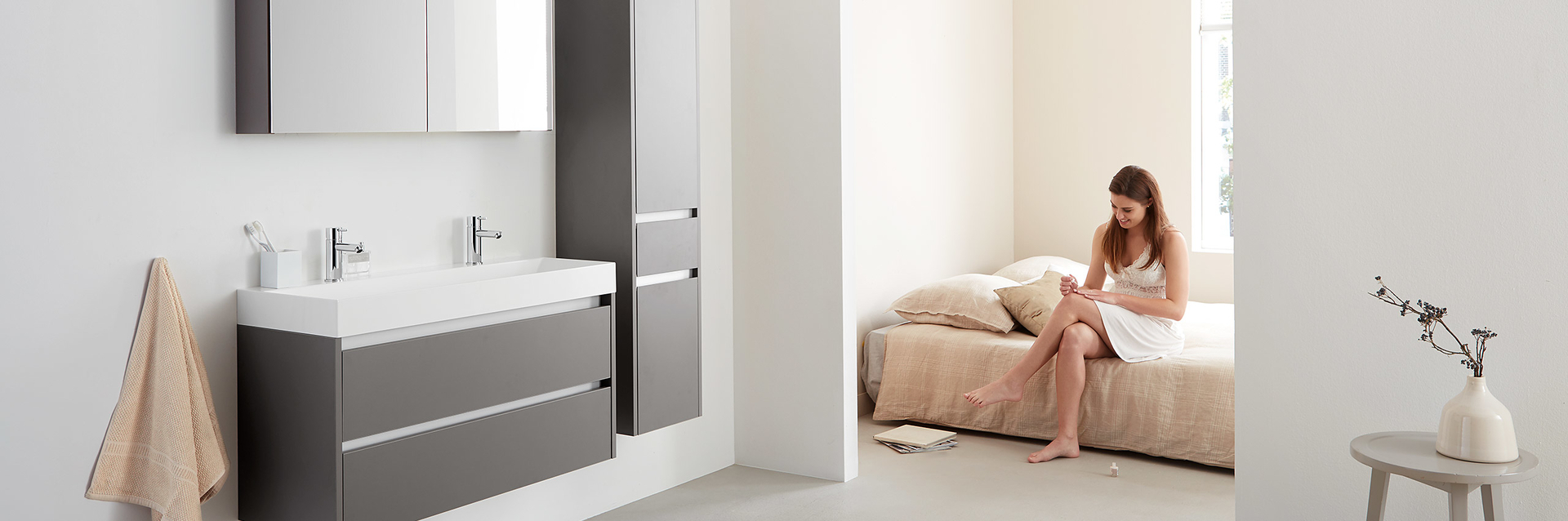 Spiegelkasten zijn erg functioneel vanwege de extra opbergruimte die ze bieden