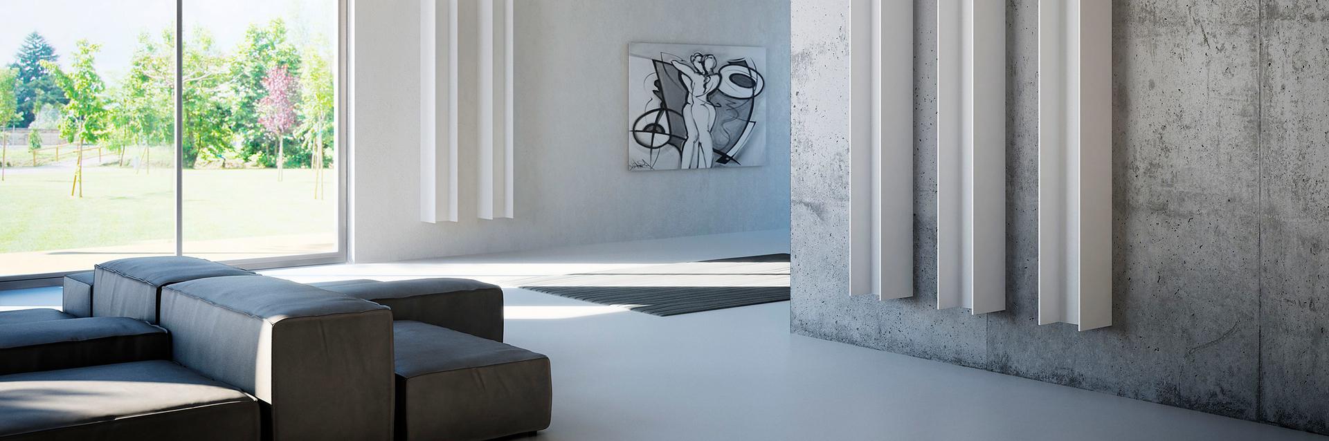 Design radiator in unieke vormen zijn sfeerbepalend