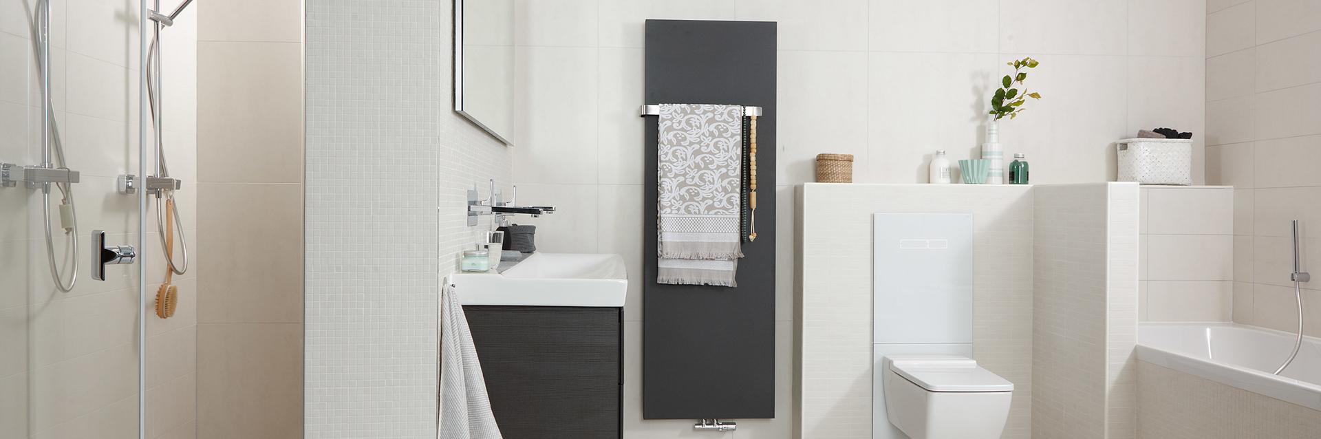 Tijdloze witte badkamer - Tijdloze witte badkamer