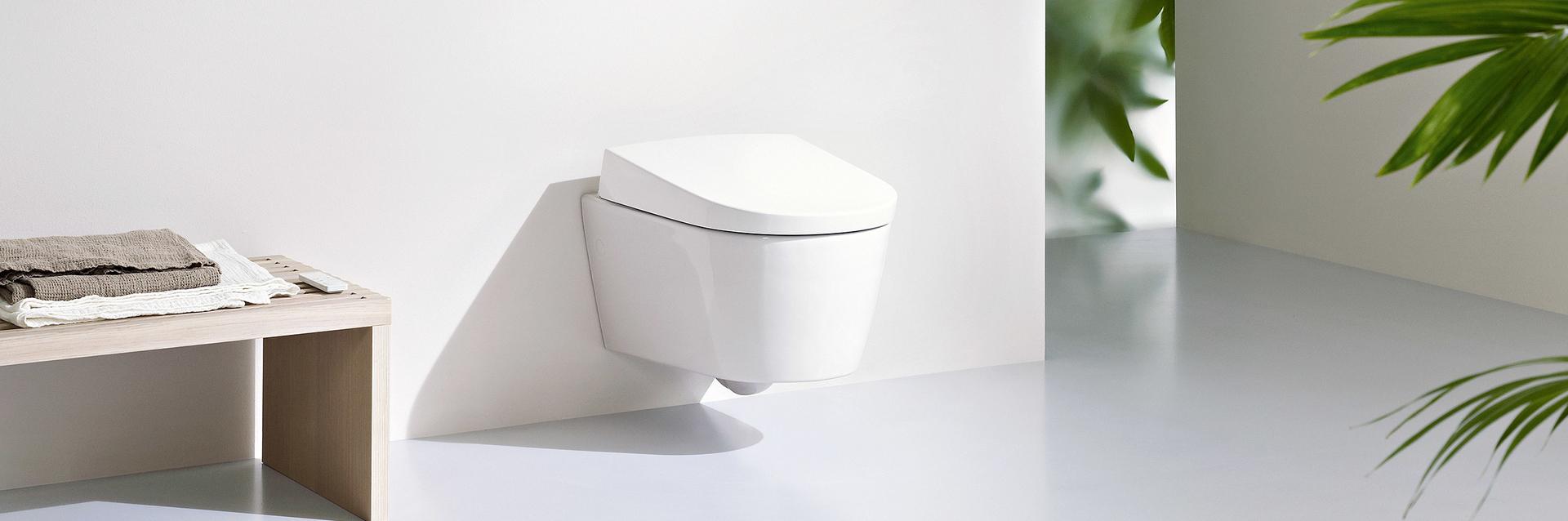 Hangend toilet douchewc AquaClean Sela van Geberit