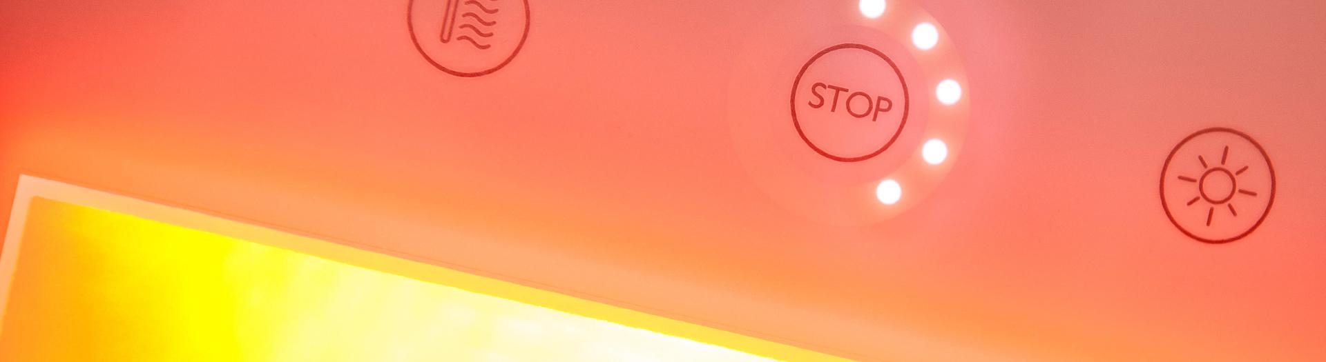 Sunshower - 2. Sunshower waarom met infraroodlicht