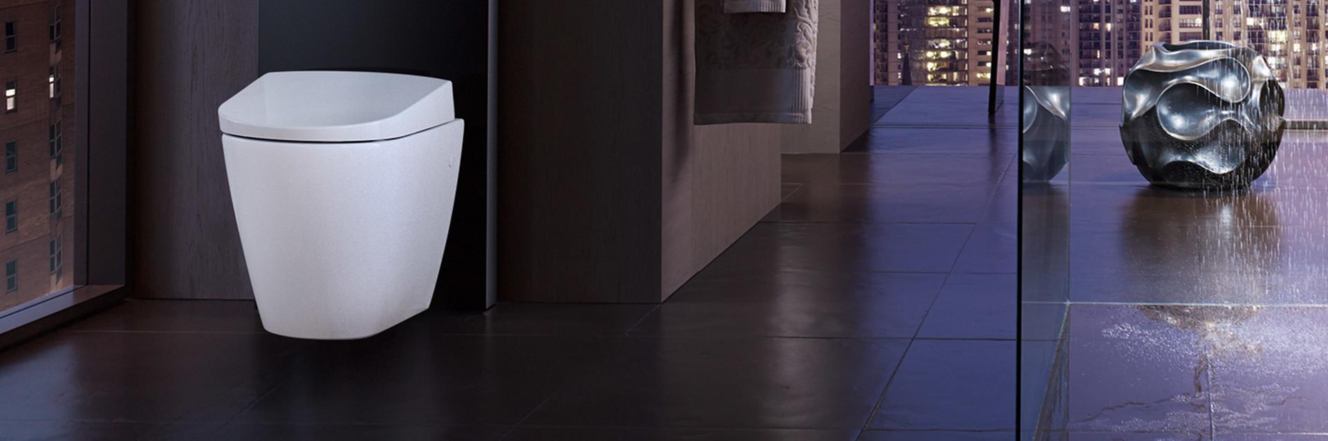 Staand toilet - douchewc AquaClean Sela van Geberit