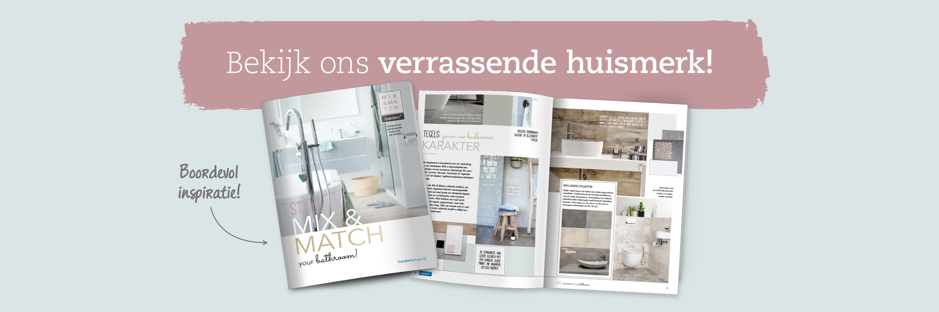 Mix & Match huismerkbrochure - Mix & Match huismerkbrochure