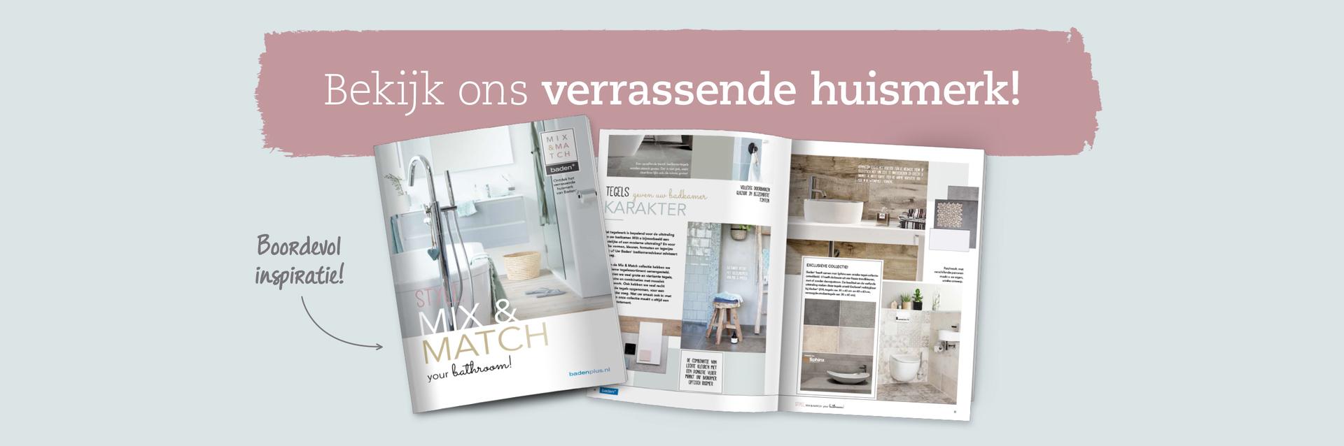 Mix & Match huismerkbrochure - Mix & Match huismerkbrochure
