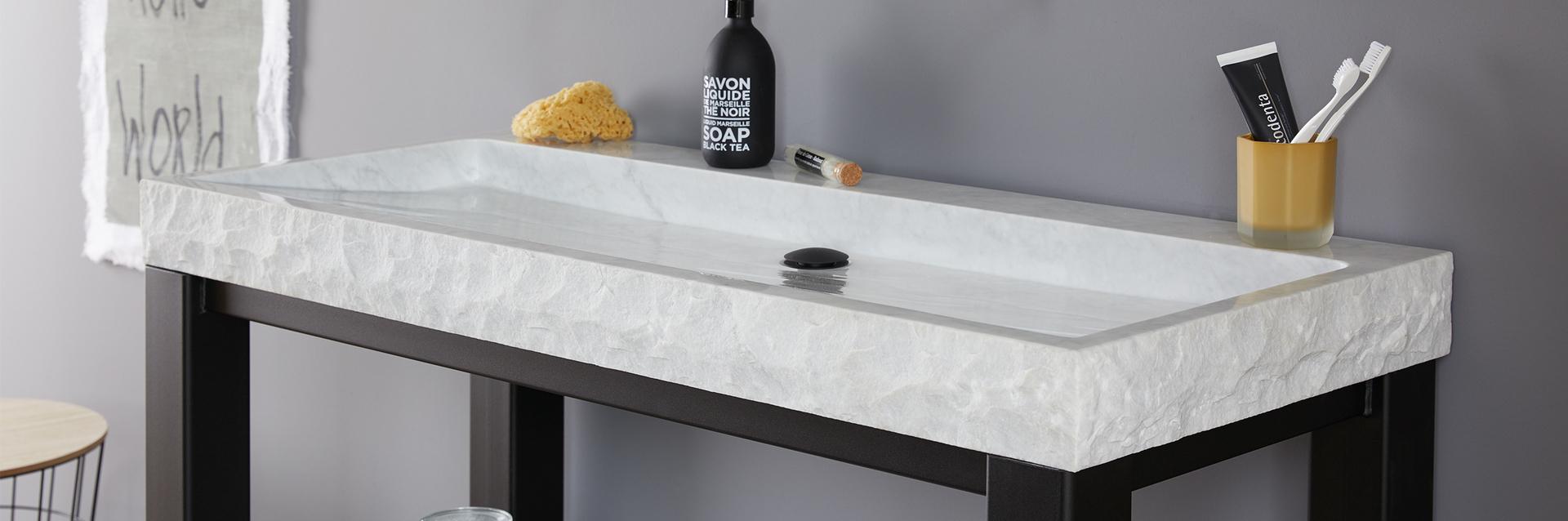 Natuurstenen wastafels en douchebakken - Natuurstenen wastafels en douchebakken