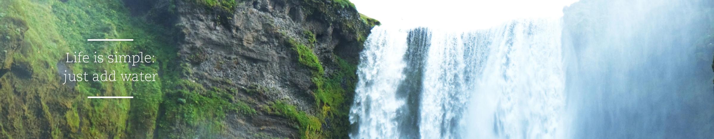 Natuurlijke Badkamermeubels - Sfeerbanner-water