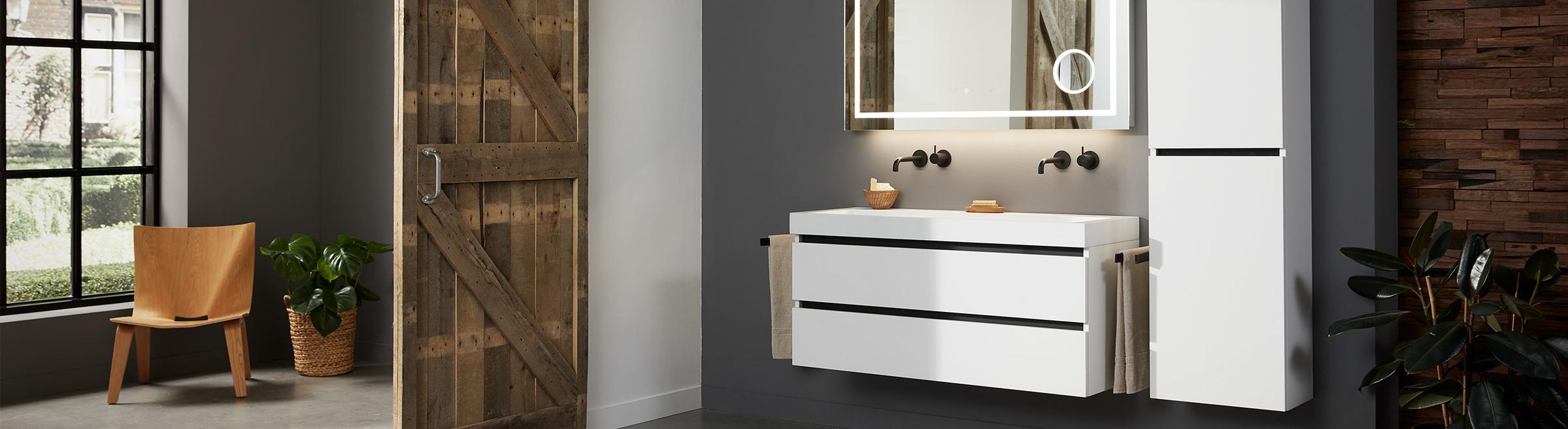 Baden+ huismerk - 2. Baden+ Topkwaliteit sanitair en badkamermeubels tegen een eerlijke prijs