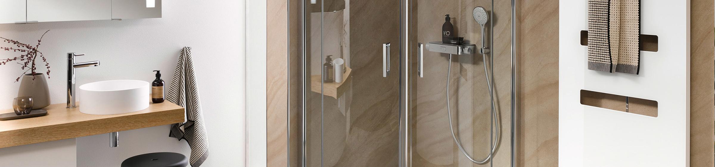 Douchecabine voor een kleine badkamer - Douchecabine voor een kleine badkamer