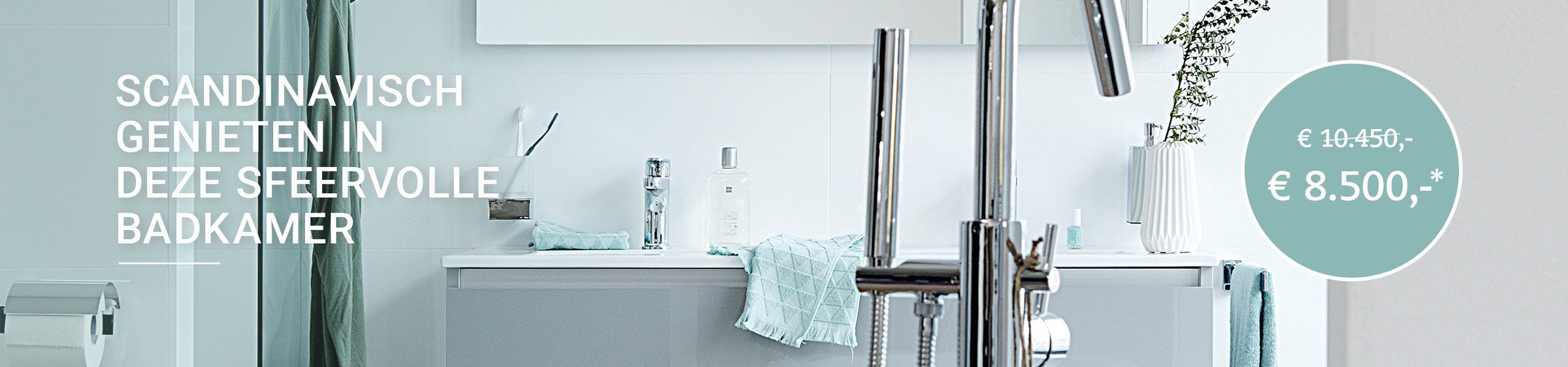 Scandinavische badkamer - Scandinavische badkamer