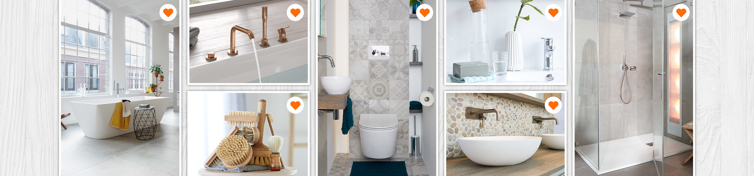 Maak een moodboard van je badkamerwensen - Maak een moodboard van je badkamerwensen