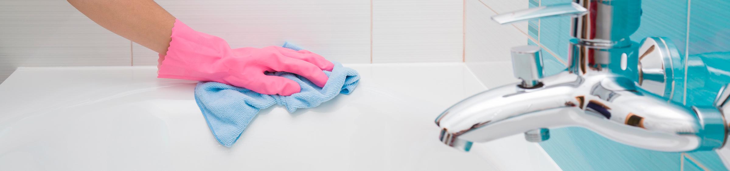 Bad schoonmaken - Bad schoonmaken