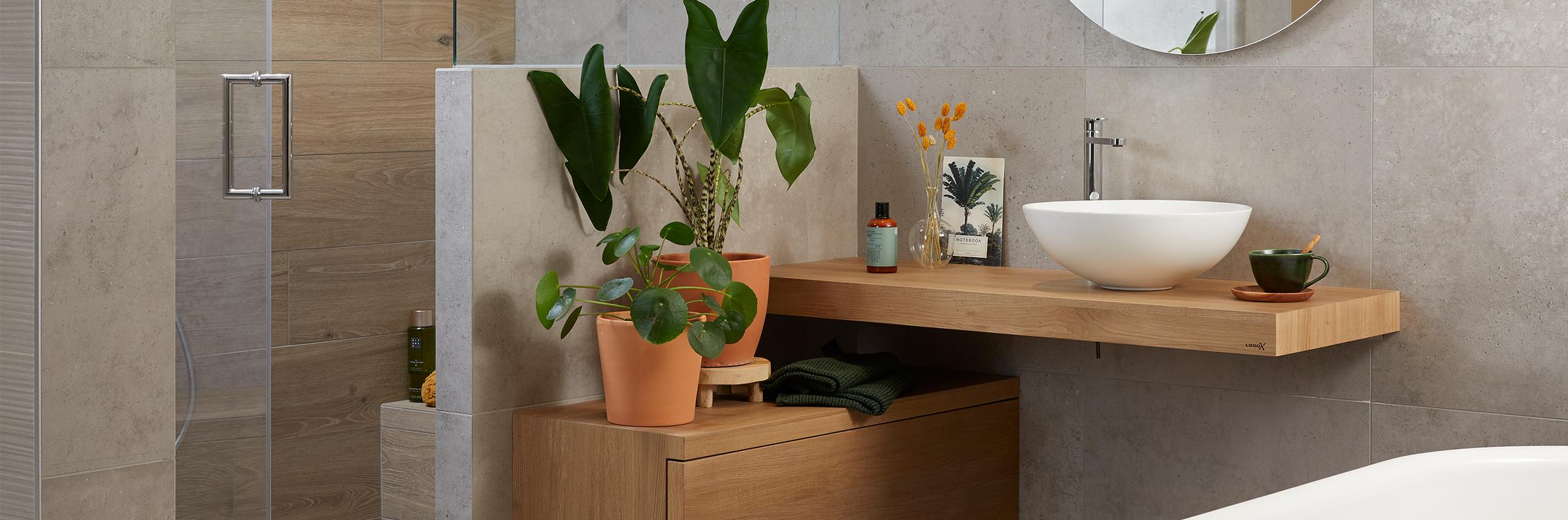 Wellness badkamer in scandinavische stijl - Wellness badkamer in scandinavische stijl