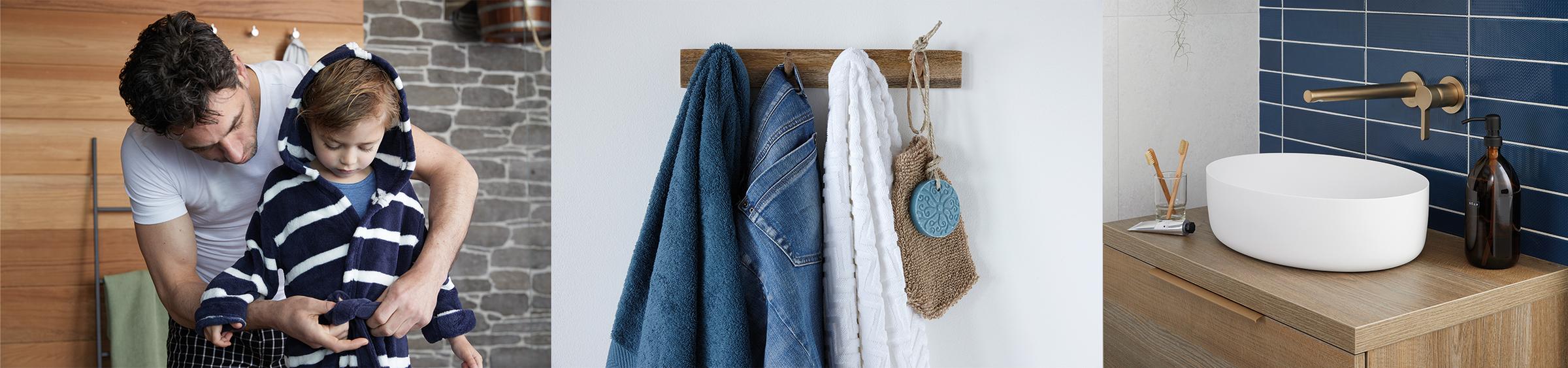 Trend: blauw in de badkamer - Trend: blauw in de badkamer