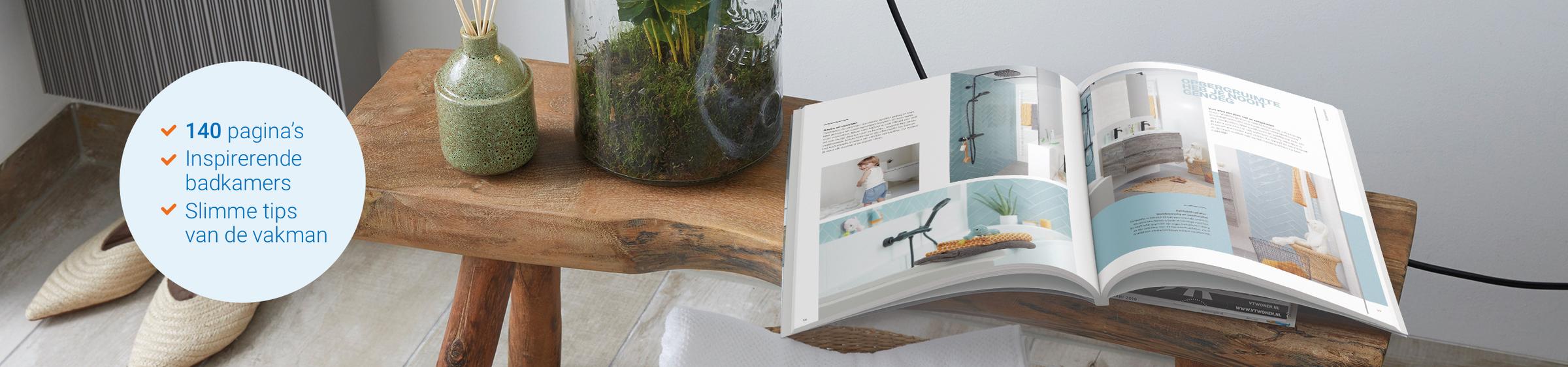 Badkamerboek vol inspiratie - Badkamerboek vol inspiratie
