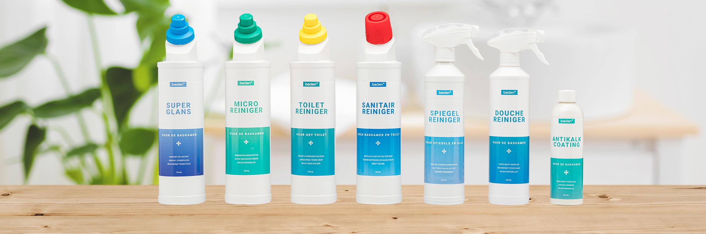 Baden+ schoonmaakmiddelen - Baden+ schoonmaakmiddelen
