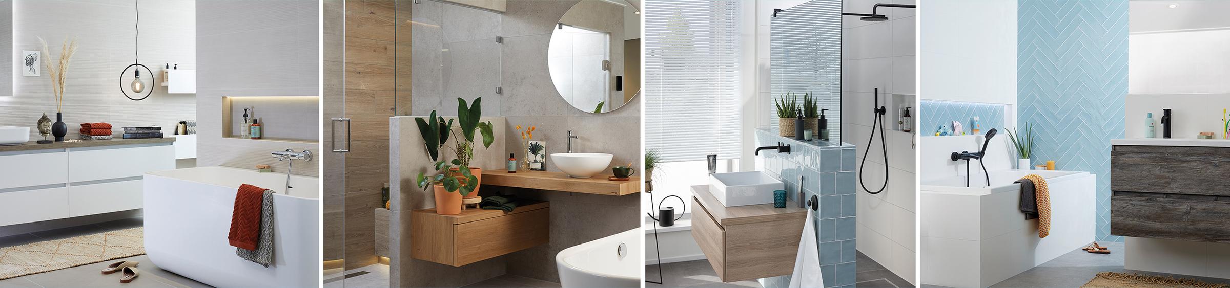5 badkamer voorbeelden: moderne badkamer - 5 badkamer voorbeelden: moderne badkamer