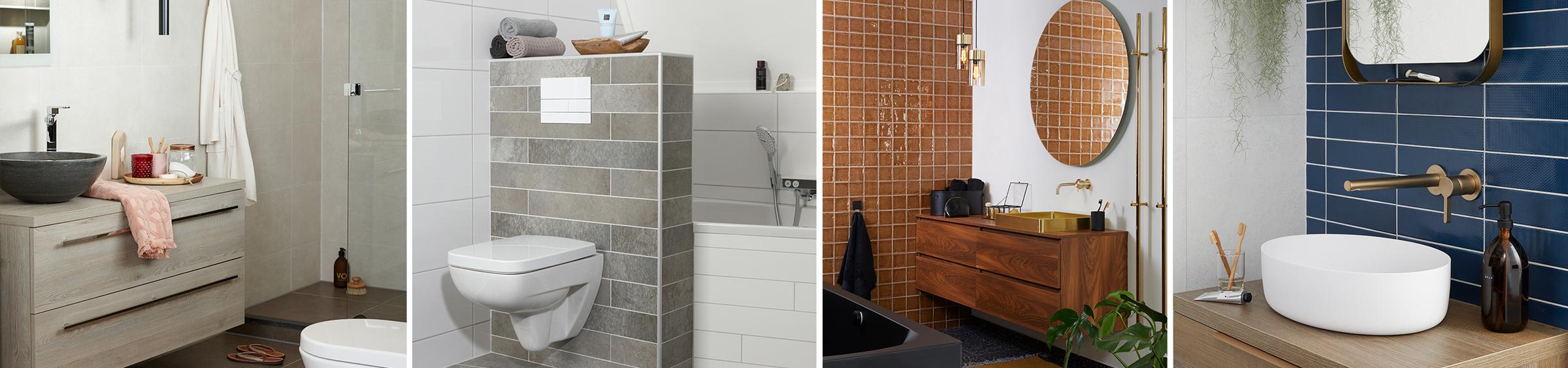 5 kleine badkamer voorbeelden - 5 kleine badkamer voorbeelden