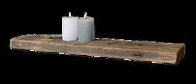 Looox Wood Shelf RAW badplank - Baden+