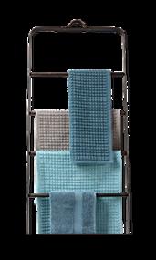 Douchebad accessoires blauw grijs