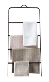 Complete badkamermeubels - handdoekrek van staal