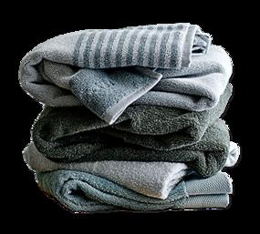Design radiator - zachte handdoeken voor in de badkamer