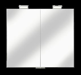 Badkamerspiegels in spiegelkast met verwarming en verlichting