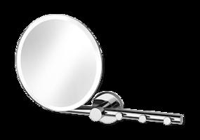 Badkamerspiegel met verwarming - make-up spiegel op haak