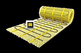 Tegels in betonlook ook geschikt voor vloerverwarming