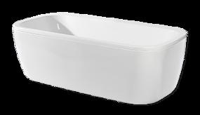 Tegels in houtlook - vrijstaand bad voor extra luxe