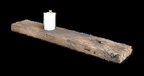 Scandinavische badkamer - Collage Scandinavian 3 - handige badplank