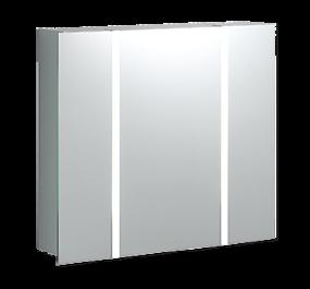 Betonstuc badkamer - Collage Steppe 1 - veelzijdige spiegelkast