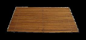 Witte badkamer - Collage Offwhite 2 - badmat in houtlook