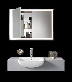 Wastafel in kleine badkamer van Me by Starck