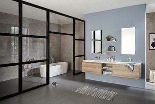 Compleet badkamermeubel extra brede lades