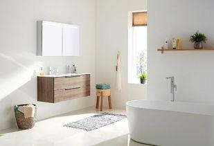 Maatwerk badkamermeubel met extra brede laden