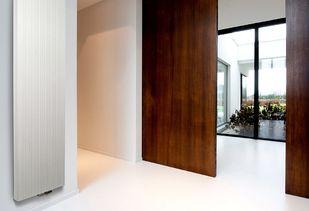 Design radiator van duurzaam aluminium