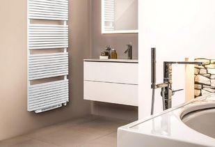 Elektrische verwarming klassiek witte radiator