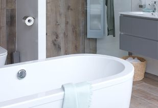 Badkamer Houtlook Tegels : Tegels in houtlook: volop mogelijkheden voor de badkamer baden