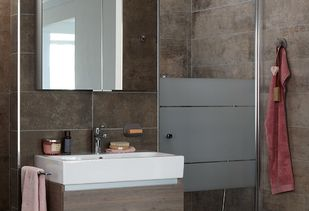 Kleine comfort badkamer - Kleine comfort badkamer