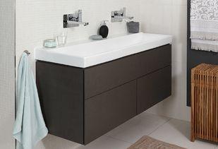 Witte badkamer met badkamermeubel van Sphinx