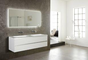 Badkamerspiegel met verwarming en led verlichting