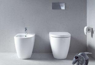 Staand toilet strak vormgegeven door Duravit